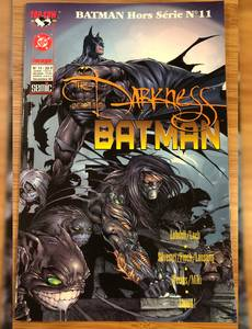 Couverture du premier album de la série The Darkness Batman