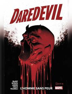 Couverture du premier album de la série Daredevil : l'Homme sans Peur