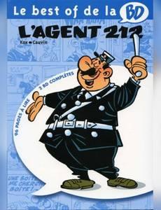 Couverture de l'album Le best of de la BD  - L'agent 212