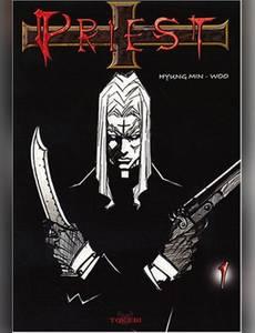 Couverture du premier album de la série Priest