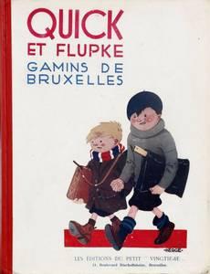 Couverture de l'album Les Nouveaux Exploits de Quick et Flupke - Gamins de Bruxelles