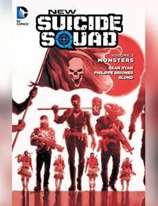 Couverture du premier album de la série New Suicide Squad