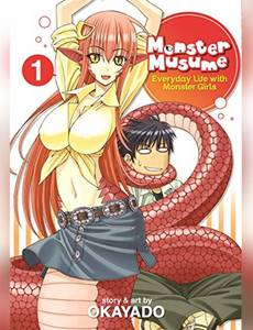 Couverture du premier album de la série Monster Musume