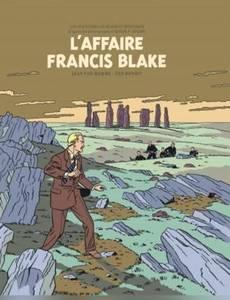 Couverture du premier album de la série Blake et Mortimer