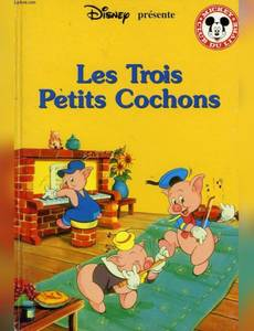 Couverture de l'album Les Trois petits cochons (Mickey club du livre)