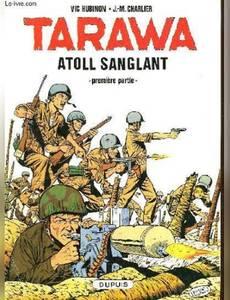 Couverture du premier album de la série Tarawa Atoll Sanglant