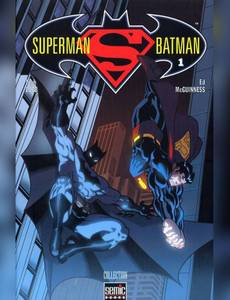 Couverture du premier album de la série Superman Batman