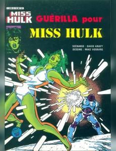 Couverture du premier album de la série Miss Hulk