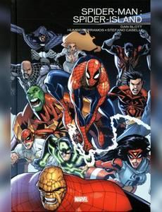 Couverture du premier album de la série Spider-Man : Spider-Island