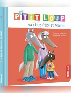 Couverture de l'album P'tit Loup va chez Papi et Mamie