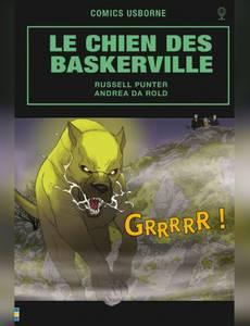 Couverture du premier album de la série Le Chien des Baskerville