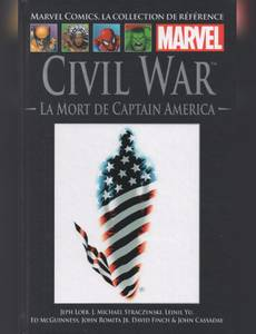 Couverture de l'album Civil War - la Mort de Captain America