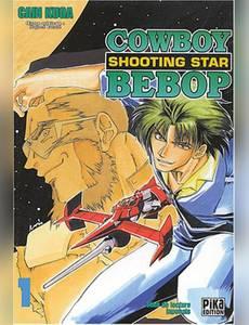 Couverture du premier album de la série Cowboy Bebop : Shooting Star