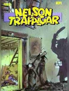 Couverture du premier album de la série Nelson et Trafalgar