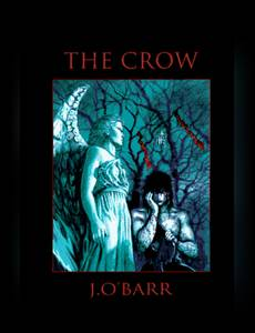 Couverture du premier album de la série The Crow