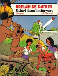 Couverture de l'album Safari dans l'Enfer Vert