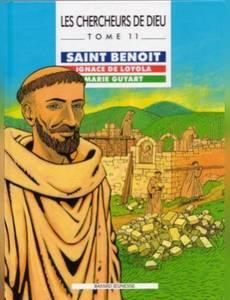 Couverture de l'album Saint Benoit, Ignace de Loyola et Marie Guyart