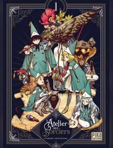 Couverture du premier album de la série L'Atelier des Sorciers