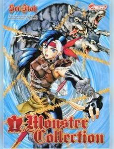 Couverture du premier album de la série Monster Collection