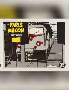 Couverture du premier album de la série Paris Mâcon