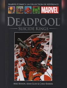 Couverture de l'album Deadpool : Suicide Kings