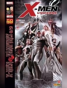 Couverture du premier album de la série X-MEN Universe - fascicule