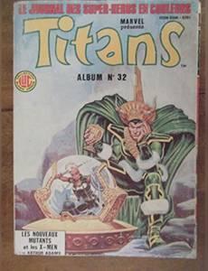 Couverture du premier album de la série Titans