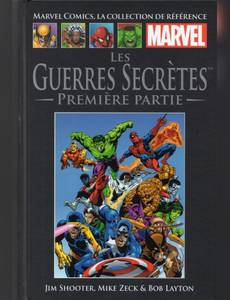 Couverture du premier album de la série Marvel Comics - La Collection (Hachette)