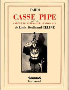 Couverture du premier album de la série Casse Pipe