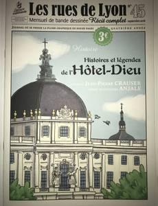 Couverture de l'album Histoires et légendes de l'Hotel-Dieu