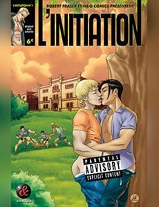 Couverture du premier album de la série L'initiation