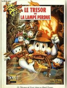 Couverture du premier album de la série La Bande à Picsou (1992)