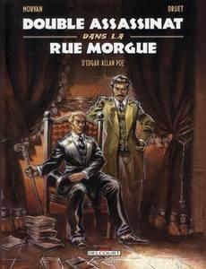 Couverture du premier album de la série Double Assassinat dans la Rue Morgue, d'Edgar Allan Poe
