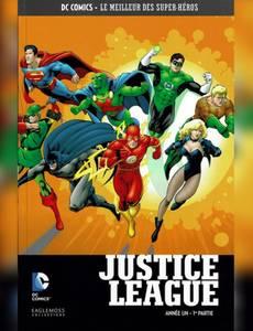 Couverture de l'album Justice League Année Un T1