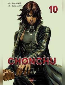 Couverture du premier album de la série Chonchu