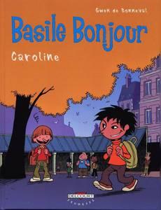 Couverture du premier album de la série Basile Bonjour