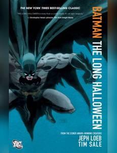 Couverture du premier album de la série Batman - Un Long Halloween