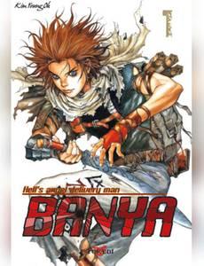 Couverture du premier album de la série Banya