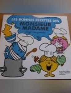 Couverture de l'album Les Bonnes Recettes des Monsieur Madame