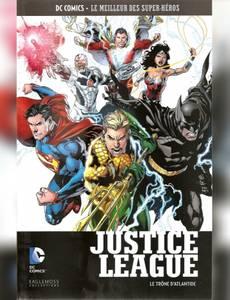Couverture de l'album Justice League - Le Trône d'Atlantide