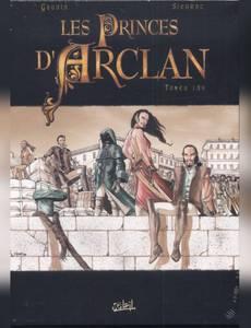 Couverture du premier album de la série Les Princes D'Arclan