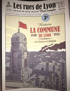 Couverture de l'album La commune de Lyon. 1870-1871