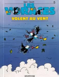 Couverture du premier album de la série Les Voraces