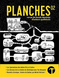 Couverture du premier album de la série Planches