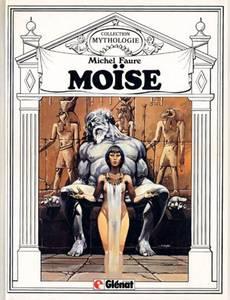 Couverture du premier album de la série Moïse