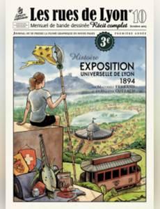 Couverture de l'album Exposition universelle de Lyon 1894