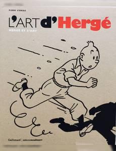 Couverture de l'album l'art d'Hergé