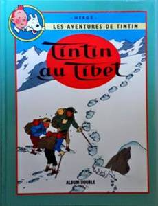 Couverture de l'album Tintin au Tibet suivi de Les bijoux de la Castafiore