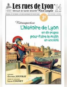 Couverture du premier album de la série Les rues de Lyon