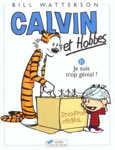 Couverture du premier album de la série Calvin et Hobbes